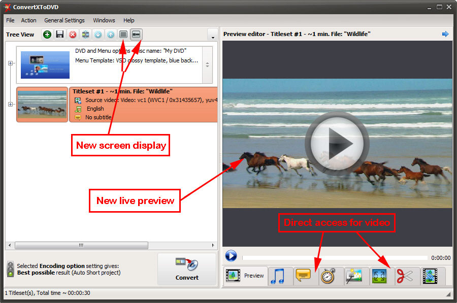 Convertxtodvd 7 crack key free download updated for Convertxtodvd menu templates