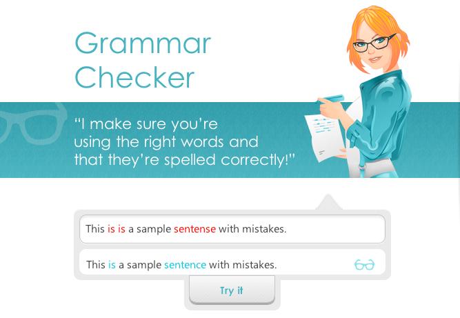 Ginger grammar software